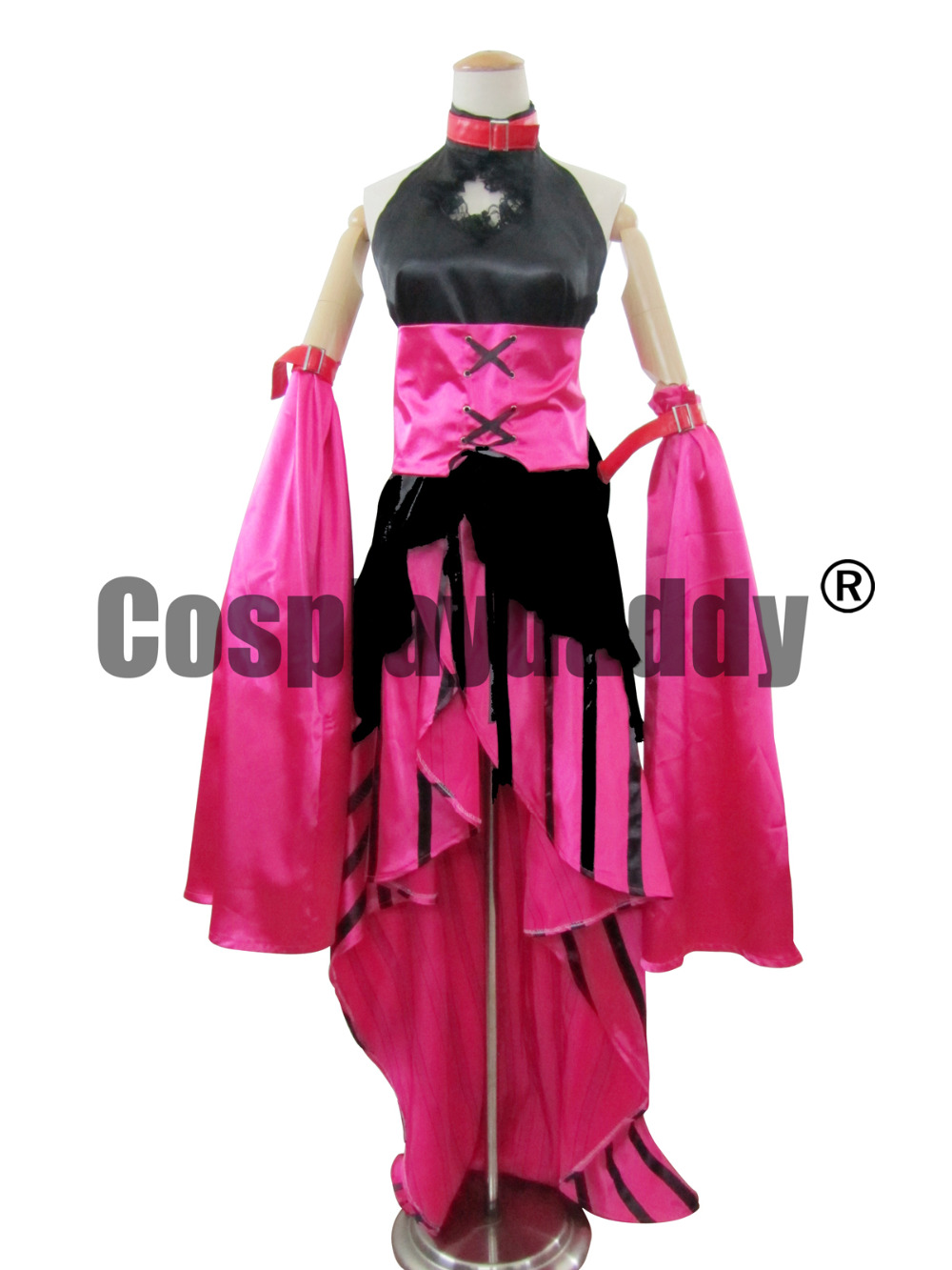 Vocaloid Luka Alice in Musicland Red Lolita Dress Cosplay Costume K002