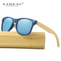 EZREAL Wood Sunglasses Men Brand Designer Top Quality Bamboo Sun Glasses For Women UV400 Oculos De