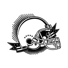 Removable American Football Helment Wall Sticker Vinyl Decal Style Room Art Decor Mural Y-570
