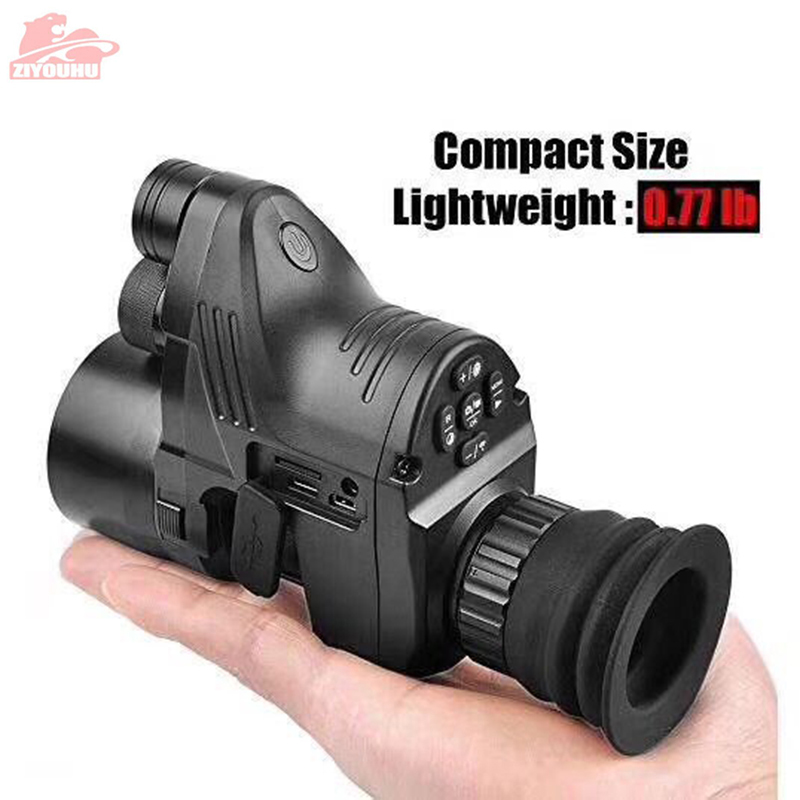 Image 2 - PARD NV007 200m Range Digital Hunting Night Vision Scope Rifle Optics Infrared Night Vision Riflescope Sighting Camera WIFI APP-in Hunting Cameras from Sports & Entertainment