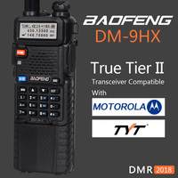 Baofeng 2018 Dual Band Tier 2 II DMR Digital Two way Radio Walkie Talkie DM 9HX sister Radio Station DM 5R Plus UV 5R UV5R UV 5R