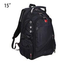 Школьный оксфорд рюкзаки ноутбука ноутбук рюкзак путешествия дюймов мужчин мешок сумки