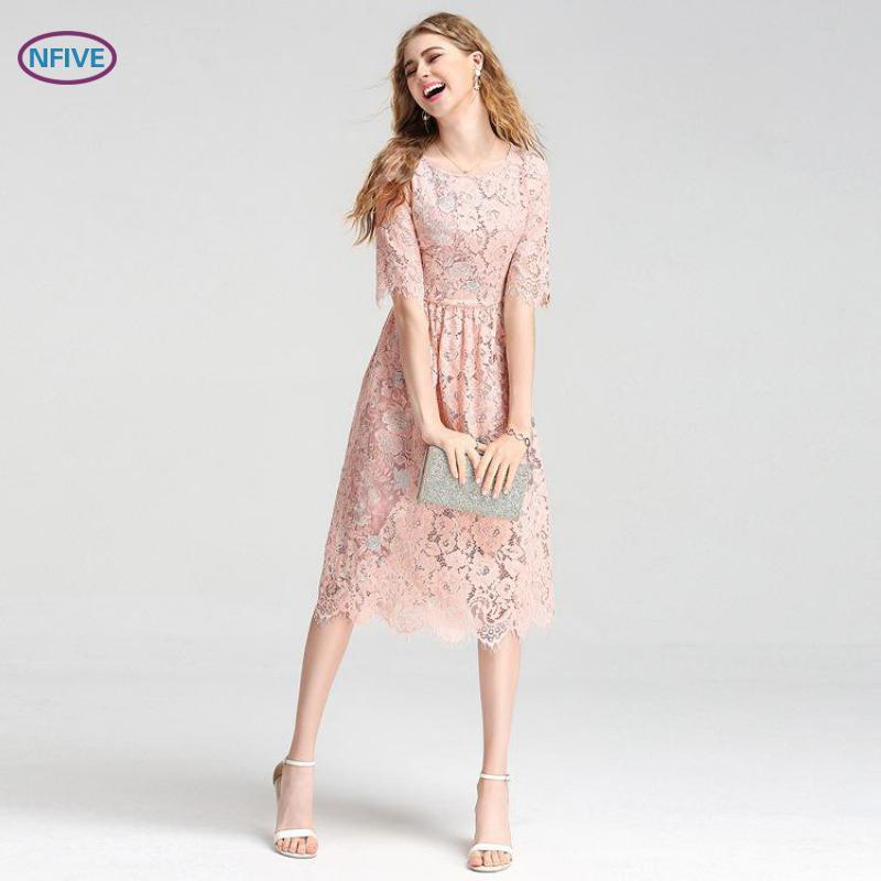Мода романтические платья