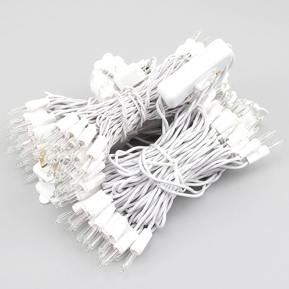 20/35 pcs Lamp Bulbs Holiday Decorative String Light 110V 220V For Christmas Tree Wedding Fairy Garland Lights Thai Lanterns JQ