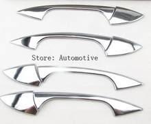 Хромированная дверная ручка для mercedes benz glk/gl/ml/c class