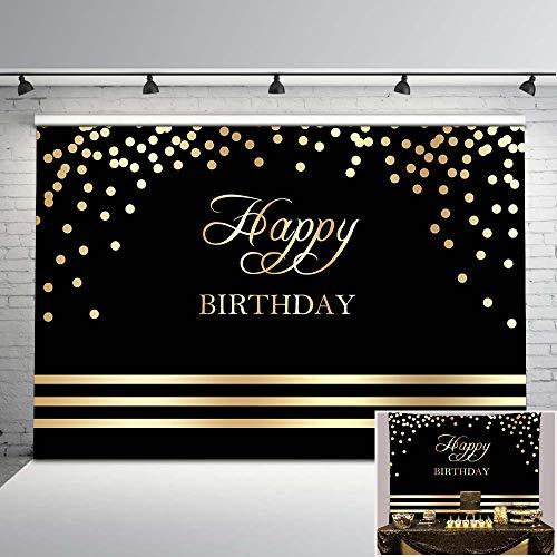 Neoback Buon Compleanno Sfondo Nero e Oro Festa di Compleanno Foto Sullo Sfondo Oro Dots Nero Sfondo di Compleanno DecorazioniNeoback Buon Compleanno Sfondo Nero e Oro Festa di Compleanno Foto Sullo Sfondo Oro Dots Nero Sfondo di Compleanno Decorazioni