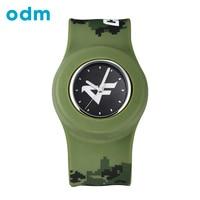 ODM New Fashion Military Silicone Slap Sport Watch Men Women Jelly Colorful Rubber Man Ladies Fashion