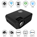 "M16 Full Color 150"" LED Projector Android 5.1 RK3128 Quad Core 1GB/8GB KODI 1800 Lumens 1080P Proyector WiFi LAN BT4.0 HDMI USB"
