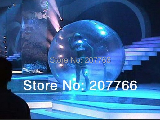 Clear Bubble Inflatable Stage Dance Ball Diameter 2.5m Can Be Customized With Air Pump