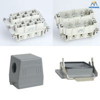 Whole set HSB 012 SK type hood auto connector, 12 Pins 35A 400V Female Heavy Duty electrical equipment