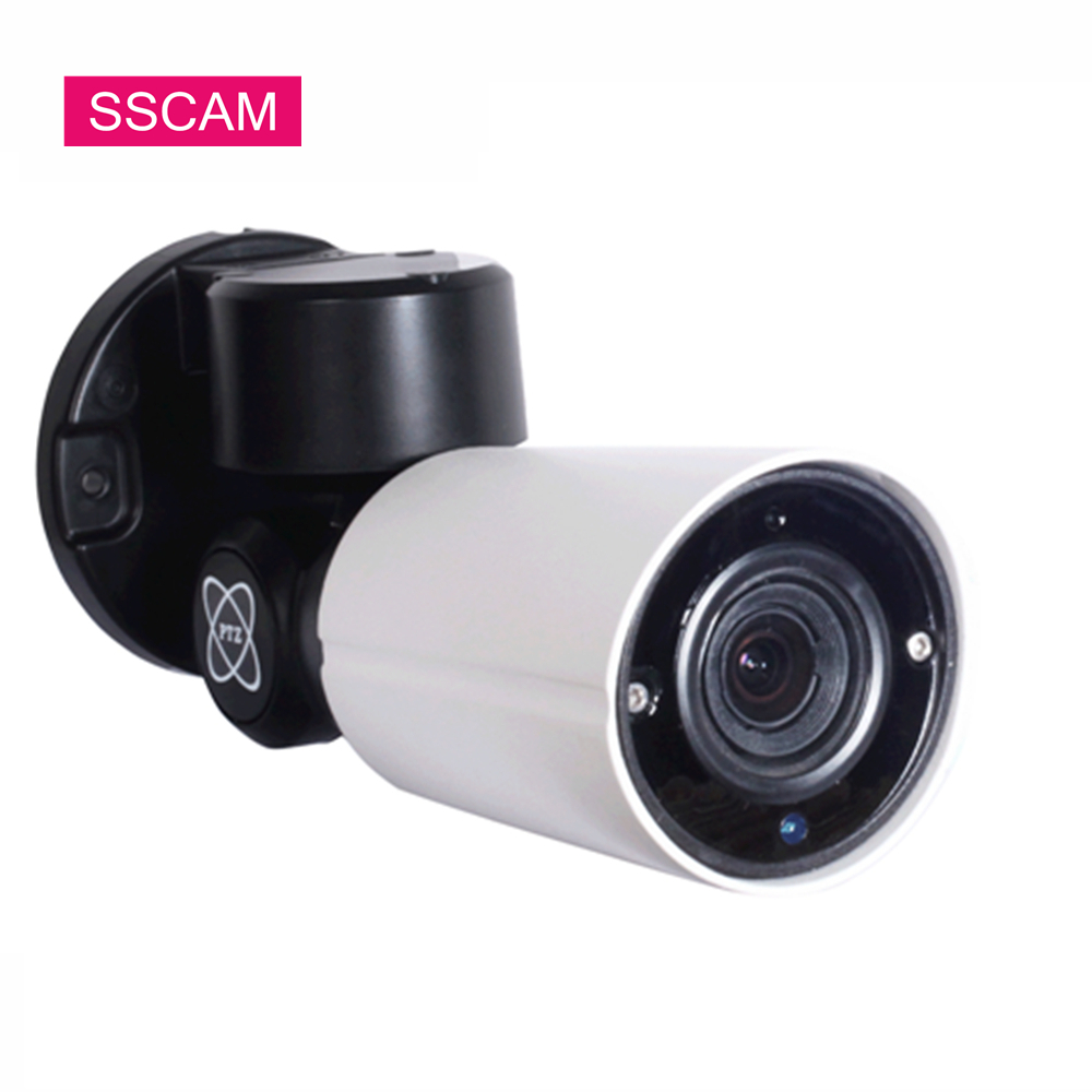 Full HD 2MP 4MP PTZ POE IP Bullet Camera Outdoor ONVIF Waterproof Pan Tilt Zoom Camera 30 Meters 2.8-12mm Auto Focus LensFull HD 2MP 4MP PTZ POE IP Bullet Camera Outdoor ONVIF Waterproof Pan Tilt Zoom Camera 30 Meters 2.8-12mm Auto Focus Lens