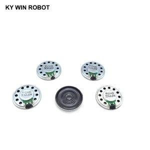 Image 4 - 5 sztuk/partia nowy ultra cienki Mini głośnik 32 ohm 0.5 watt 0.5W 32R głośnik średnica 27MM 2.7CM grubość 5MM