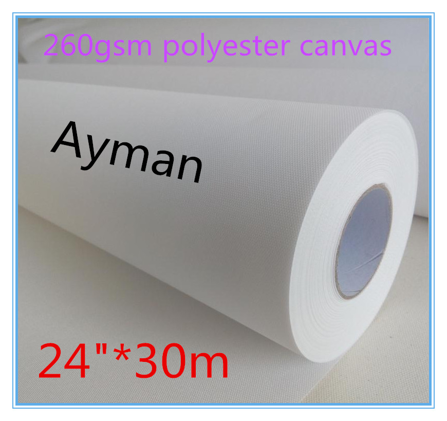260g waterproof matt polyester digital printing canvas for Canvas roll for painting