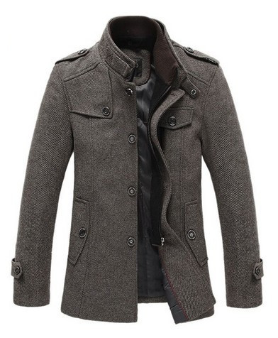 Aliexpress.com : Buy Match Mens Wool Classic High Qaulity Pea Coat
