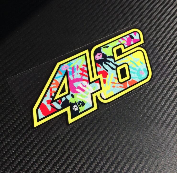 pista rossi 3M new 46 valentino rossi Reflective stickers