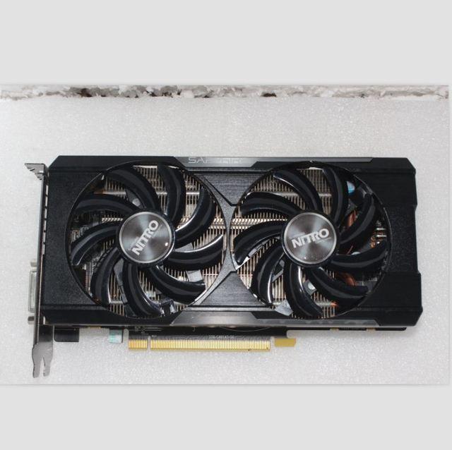 Used, Sapphire R9 370 4GB 256Bit GDDR5 graphics card for ATI Radeon Games