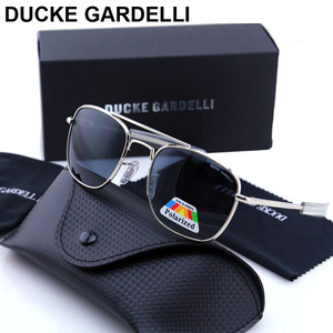 Image 1 - DUCKE GARDELLI Flyer Men Air force military Metal Polarized 57 mm 52 mm army optical SUNGLASSES Gafas de sol lunettes with box