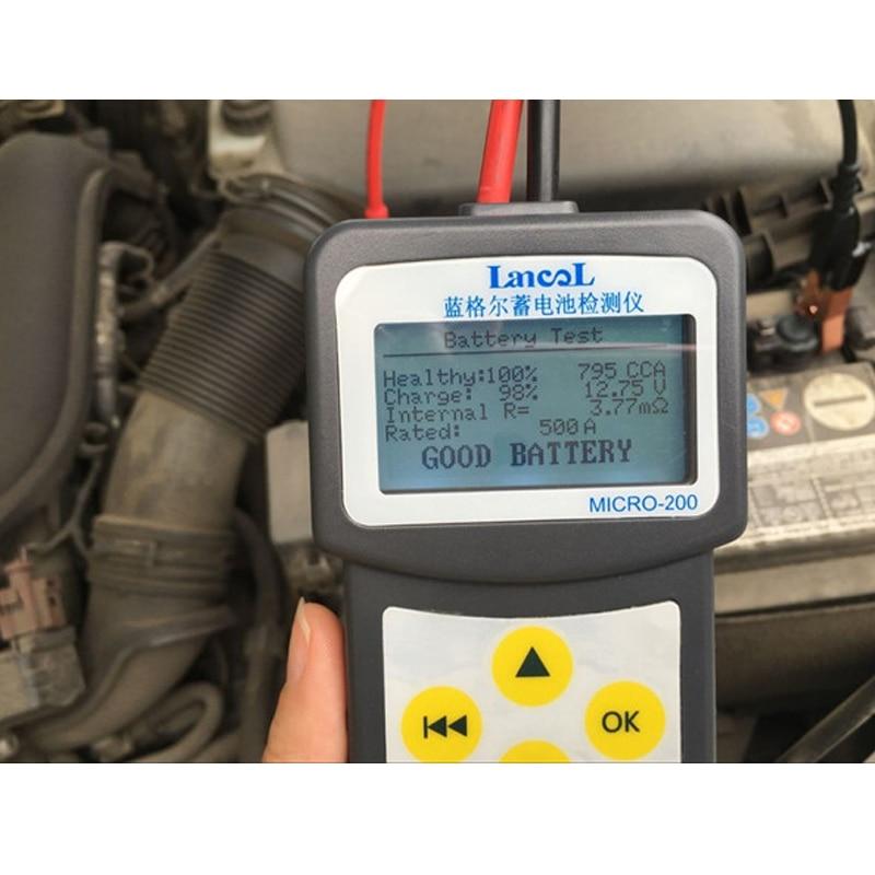 LANCOL Pro MICRO 200 Diagnostic ToolAuto font b Battery b font Life Tester font b Battery