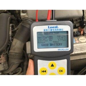 Image 2 - Lancol Fabriek 200 Met Auto Automotive Batterij Gereedschap Voor Auto Batterij Analyzer Tester Batterij Auto Batterij Life Multi Talen