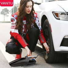 YANTU Car Vacuum Cleaner With Inflation Air Pump Use DC 12V 120W High Power with Stronger Suction Material ABS Compressor