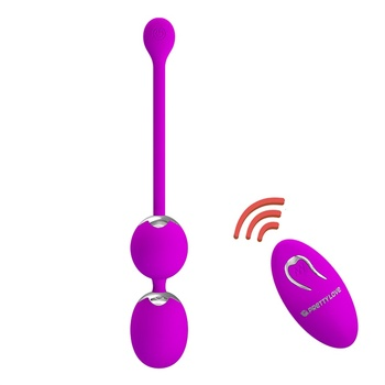 Wireless Remote Control Vibrating Kegel Ball Contract the Vagina Exercise Sex Toys for Women Ben Balls Vibrator Bullet Egg Vibe фото