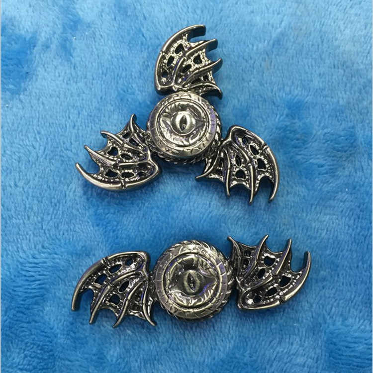 NEW Game of Thrones Fidget Spinner Spinner Spinner de Metal Mão Dedo Do Olho Do Dragão Anti Stress Tri Spiner Brinquedos para o Autismo e TDAH