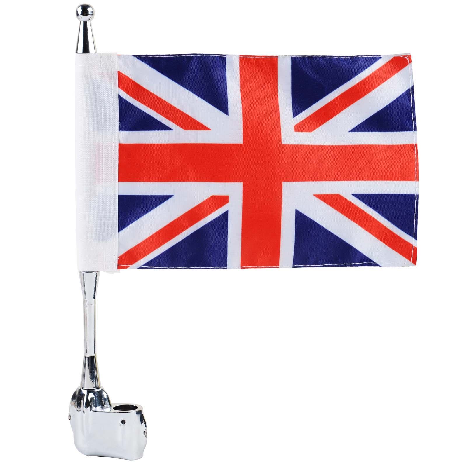 Luggage Rack Flag Pole Luggage Rack Vertical Britain Flag Pole for Honda GoldWing GL1800 GL1500 GL1200 2001-2011 luggage