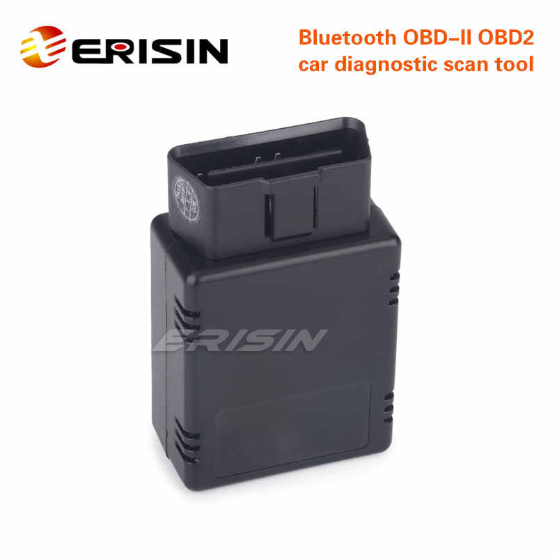 Erisin ES360 Bluetooth V1.5 OBD2 Mobil Diagnostik Scan Alat