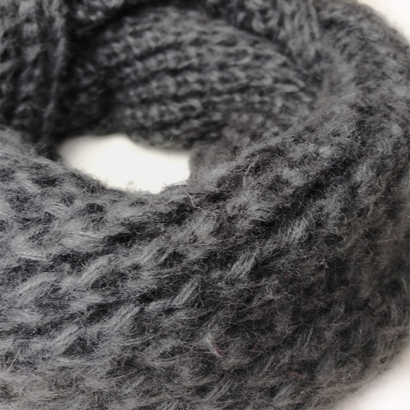 Leo anvi ganchillo bufanda infinito bufandas gruesas mujeres de moda ...