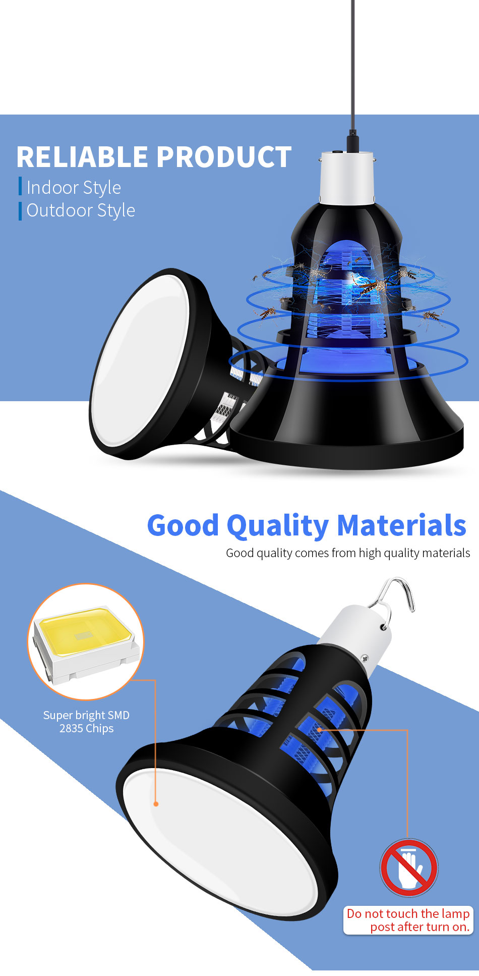 _01  CanLing E27 LED Bulb Electrical Lure Mosquito Killer Mild 220V Mosquito Killer Lamp 2 in 1 Digital Anti Insect Bug Night time Lamps HTB1i7LqfborBKNjSZFjq6A SpXaT