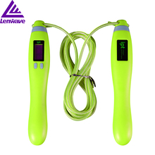 Фотография IPT high quality rope skipping fitness fitness professional fitness tool male and female skipping multi-function count Bluetooth