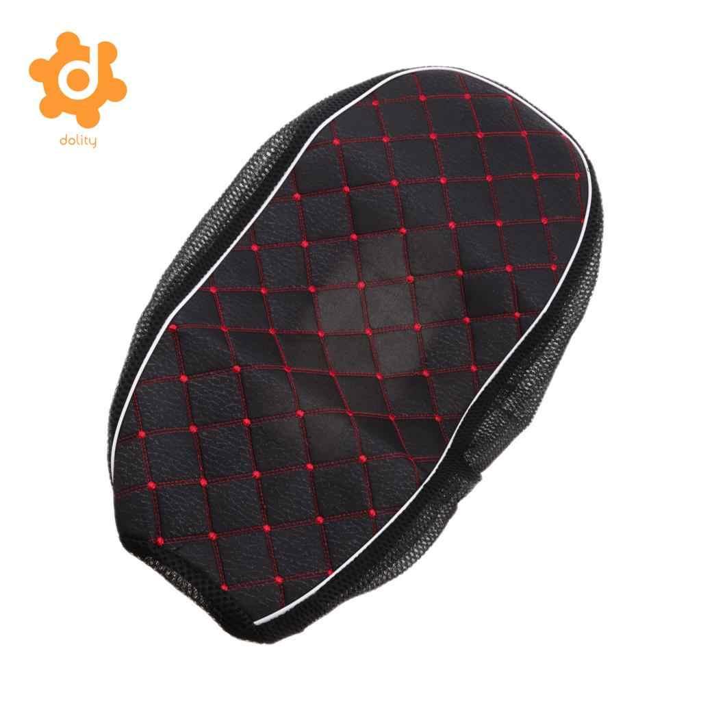 Housse de coussin de siège imperméable | Noir, housse de coussin L pour moto voiture électrique Scooter