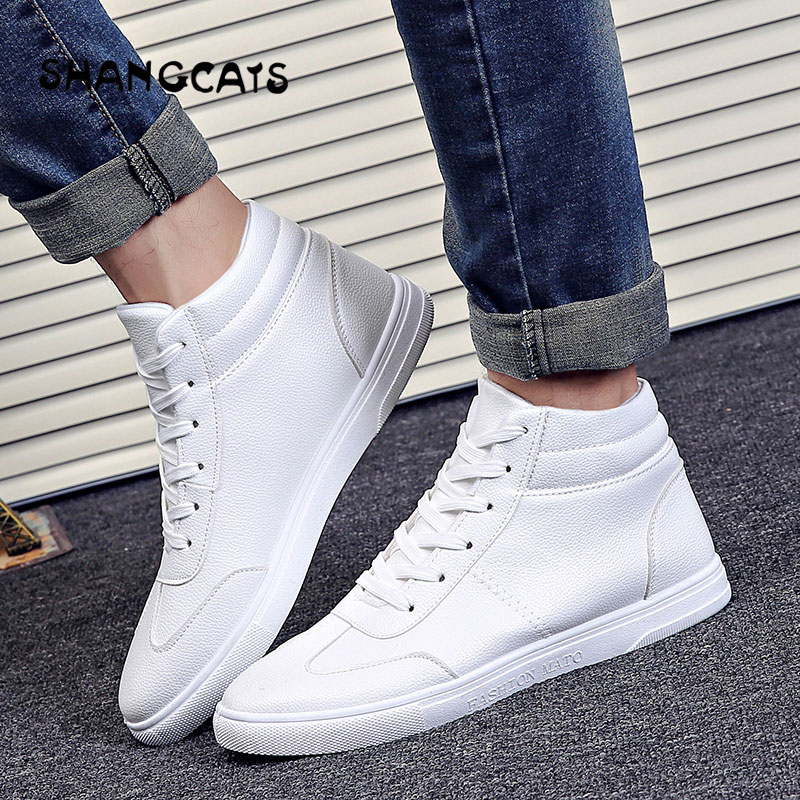 2018 winter sneakers Men's Vulcanize Shoes Men