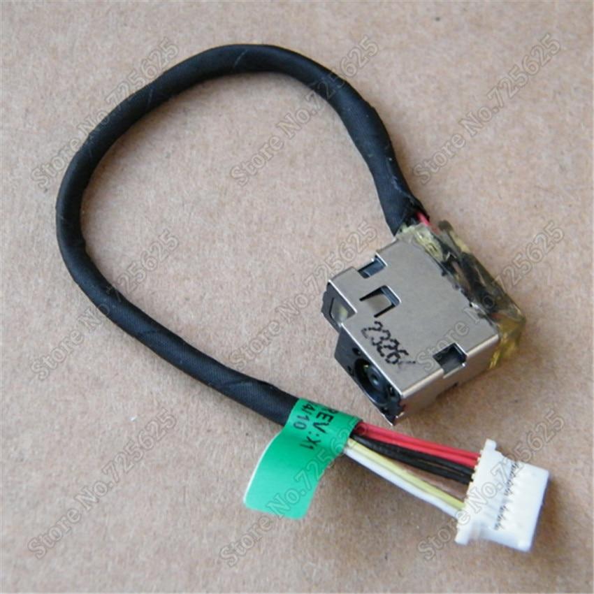 все цены на  10pcs DC Power Jack Harness Cable For HP ENVY M6-P M6-P113DX MT245 DC Power Jack Connector  онлайн
