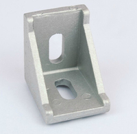 3030 Corner Angle Bracket Joint Aluminum Profile Extrusion CNC DIY