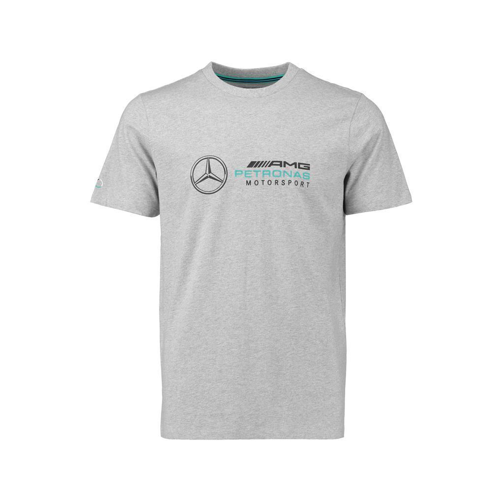 AMG Petronas Mens 2018 Gray Logo T Shirt Men Short Sleeve Funny