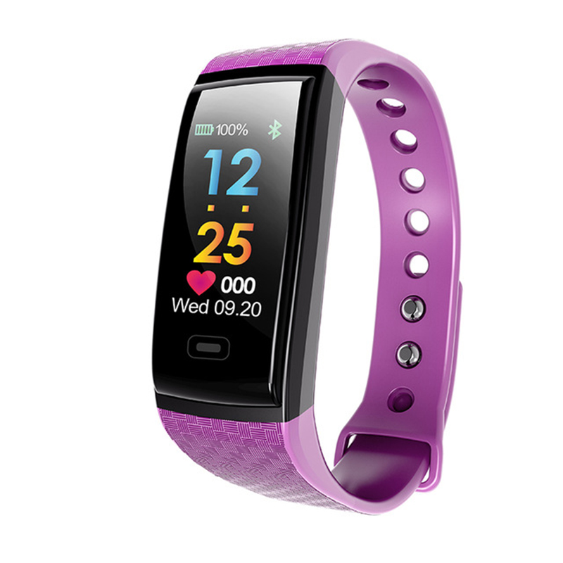 New Arrival Smart Fitness Bbracelet Intelligent Heart Rate Blood Pessure Monitor Activit ...