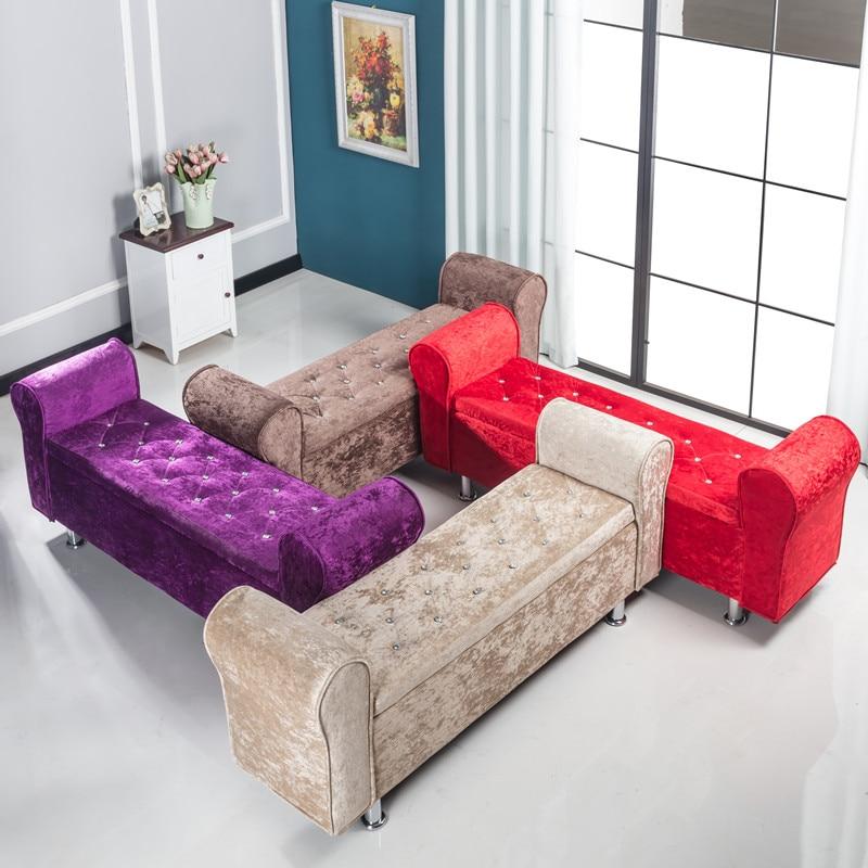 Ultimate Sale┌Storage Stool Chair Shoe Bench Sofa Bedroom Taburete Household Multifunctional