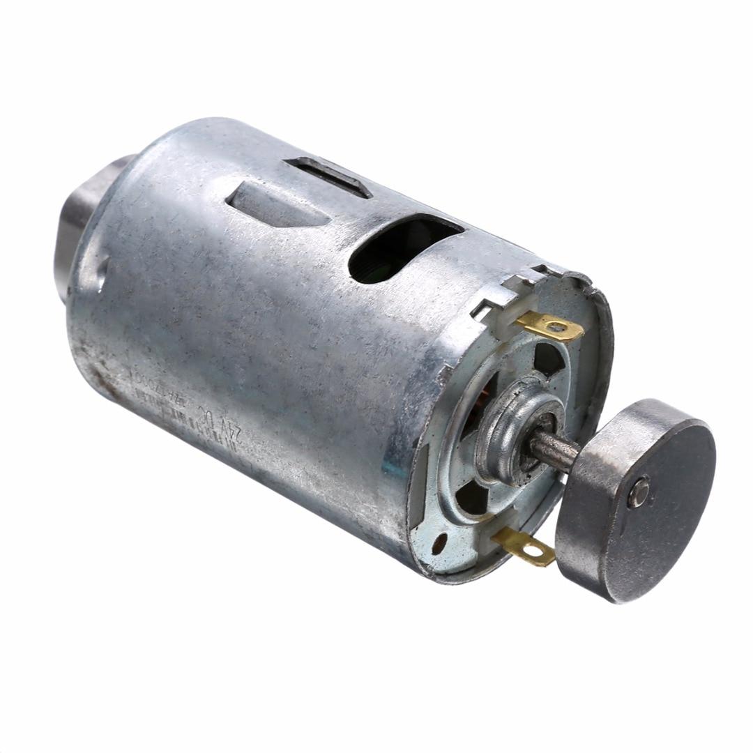 1pc 555 Vibrating Motor 36mm Diameter DC 12V 24V 0.3A Dual Vibrator Strong Vibration DIY Massager Motors