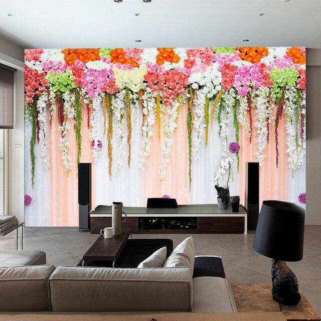 Equipamiento Casero Mural Sofa Tv Dormitorio Jardin Fondo De La Boda