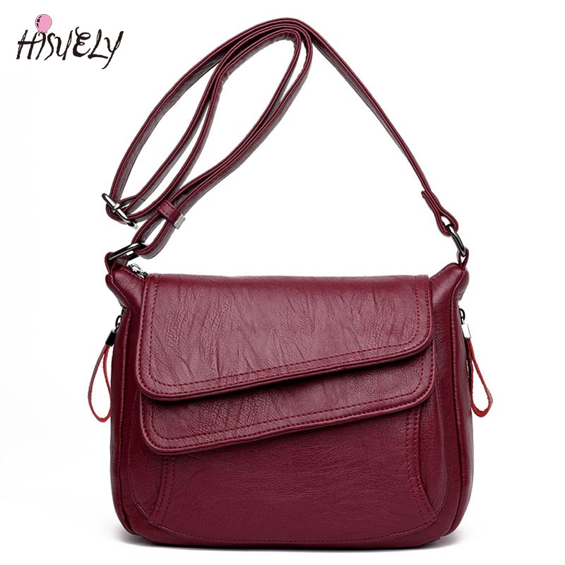 Hot Sale Women Leather Shoulder Bag Summer Style Ladies Bag sac  Femme Luxury Handbags Women Message Bags Designer Small Handbag