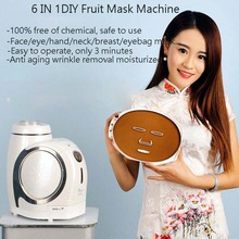 DHL Free Shipping 6 IN 1 DIY Face/Eye/Hand/Breast/Foot Neck Natural Fruit & Vegetable Mask Maker Beauty Care Home Spa Machine
