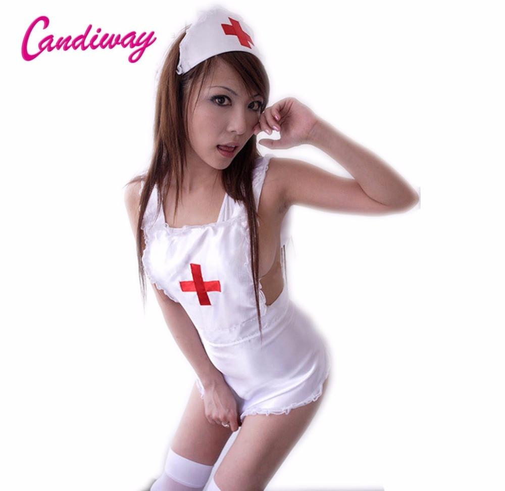 sexig erotisk underkläder cosplay kigurumi älskling spets sexig sjuksköterska kostymer underkläder pyjamas sex underkläder rollspel porno