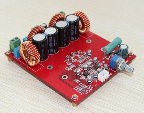 DC50V TAS5630 OPA1632DR 2 * 300W 2.0 channel class D audio amplifier board|Amplifier|   - title=