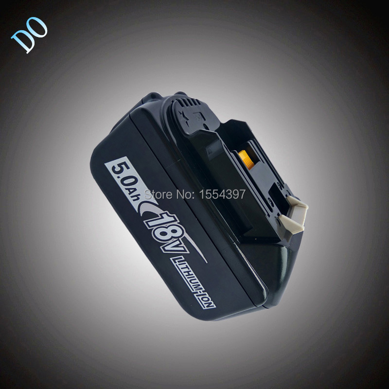 18V 5000mAh Rechargeable Lithium Ion Replacement Power Tool Battery for Makita 18V BL1830 BL1840 BL1850 LXT400 194205-3 194230-4 18v 5000mah with led indicator li ion battery for makita 18v battery 5 0ah bl1860 bl1850 bl1830 bl1840 194205 3 power tool