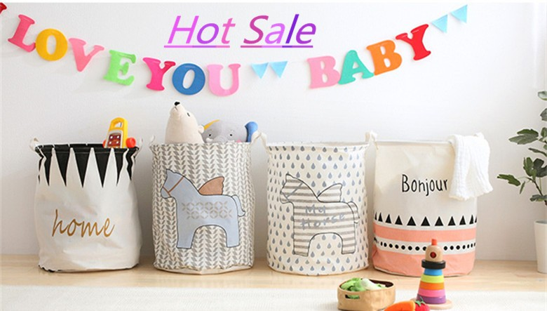 ̿̿̿(•̪ )Cesta de lavandería juguetes para bebés Cestas de ...