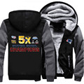 NEW Super Bowl Champion Thick Winter Coats New England Men's Hoodies Sweatshirts Patriots Outwear Hooded Sportswear Tracksuits