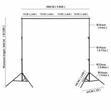 Equipamento Fotográfico 2X3 m Manual de Kate Qualidade Moldura de Alumínio de Alta Qualidade Suporte de Fundo Para Photo Studio