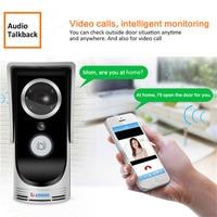 WiFi Smart Video Doorphone 3.0MP 720P IP Camera Wireless Video Intercom System Waterproof IOS Android APP Mobile Doorbell Camera