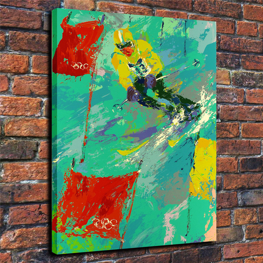 LeRoy Neiman Music and Sports Event Color Print Canvas Painting Living Room Bedroom Home Decor Modern Mural Art Oil Painting#003